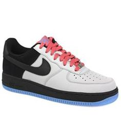 Nike Male Air Force 1 07 Le Leather Upper Fashion Trainers in White and Black NIKE Air Force 1 07 Le Casual, retro styled trainer from Nike. The Air Force One is now 26 years old in 2008. Leather upper with double stitched sections throughout the shoe. Reinforced heel section. http://www.comparestoreprices.co.uk/trainers/nike-male-air-force-1-07-le-leather-upper-fashion-trainers-in-white-and-black.asp