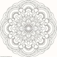 552 Best Mandala coloring images | Coloring books, Printable ...