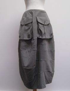 Ivan Grundahl double oversized pocket skirt