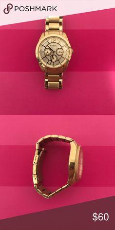 Fossil Gold Boyfriend Watch Fossil Gold Boyfriend Watch Fossil Accessories Watches