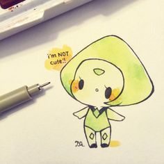 Peridot ||| Steven Universe Fan Art by birduyen on Tumblr