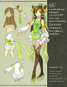 Original character: MoCha by ZiyoLing.deviantart.com on @DeviantArt