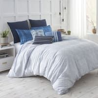 Under The Canopy Shibori Chic Blue 100-Percent Certified Organic Cotton Duvet Set