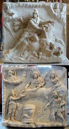 The Mithraic Mysteries were a mystery religion practised in the Roman Empire until about Writers of the Roman Empire period referred to this mystery religion by phrases which can be anglicized as Mysteries of Mithras Ancient Aliens, Ancient Rome, Ancient History, Ancient Mysteries, Ancient Artifacts, Saturn Mythology, Roman Mythology, Art Romain, Religion