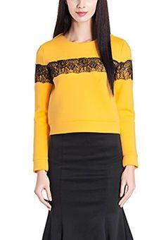 Sweatshirts, Blouse, Lace, Casual, Stitching, Zipper, Clothes, Shoes, Amazon
