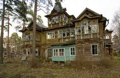 Another dacha near St. Petersburg, Russia.