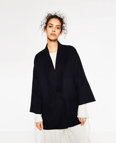 WOOL COAT-View All-OUTERWEAR-WOMAN-SALE | ZARA United States