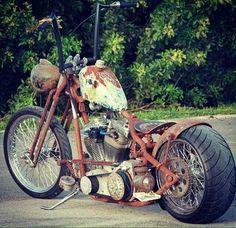 Old skool rat rod bobber