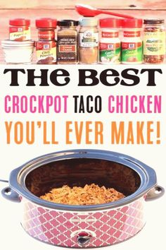 #Crockpot #chicken #taco #meat #recipes #level Crockpot Taco Meat Recipes  This Easy Slow Cooker Chicken Tacos Recipe will take your Taco Tuesday to the next level  Just let your Crock Pot do the work for you this weekbrp classfirstletterYou are in the right place about workpA quality image can tell you many things You can find the highest appealingly icon that can be presented on crockpot chicken taco meat in this accountWhen you look at our control panel there are the icons you like the… Crockpot Taco Meat, Slow Cooker Chicken Tacos, Chicken Taco Recipes, Easy Crockpot Chicken, Crock Pot Tacos, Healthy Crockpot Recipes, Meat Recipes, Mexican Food Recipes, Cooker Recipes