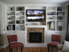 built in electric fireplace - Google Search
