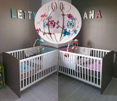 Lit bébé évolutif pour jumeaux · Maths Twin, lits pour jumeaux ...