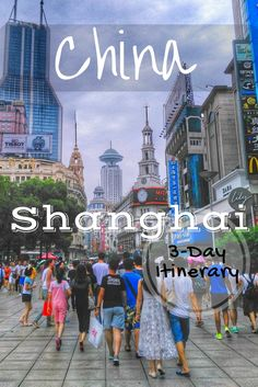 Shanghai, China Travel: Itinerary for 3 days of Things to - food, The Bund, Yuyuan Gardens, Zhujiajiao Ancient Water Town, and temples. Includes guide for riding the metro in Shanghai. Check out the full article https://togethertowherever.com/shanghai-three-day-experience/