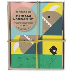 Noodoll origami notes Ricemon