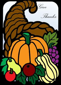 Debbi Higginbotham (18+ division) from The Little Thanksgiving Stained Glass Coloring Book: http://store.doverpublications.com/0486260518.html