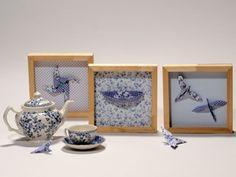 Manualidades y Artesanías | Cuadros con mariposas de origami | Utilisima.com