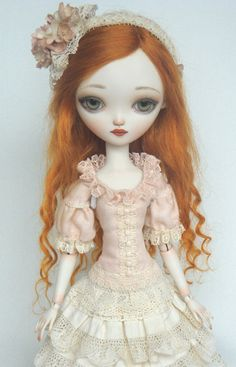 Sophie Porcelain ball jointed doll   Beautiful and delicate little dolls