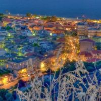 roccella jonica Italy by night