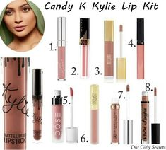 Dupes Candy K Kylie Lip Kit