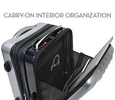 Fingerprint Opening, Global Tracker, Lift-less Self Weighing Scale, Speakerphone and Power Bank all combined in a super smart luggage