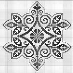 Tantes Zolder octagon cross-stitch - free