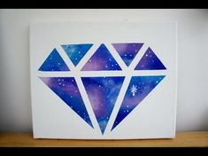 DIY Room decor Galaxy diamond painting einfacheheimwerkerprojekte DIY Room decor Galaxy diamond painting My Crafts and DIY Projects Chanel Decoration, Diy Galaxie, Diy Para A Casa, Galaxy Room, Diy Canvas, Canvas Art, Canvas Crafts, Diy Home Crafts, Diy Painting