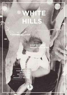 White Hills poster by DR.ME