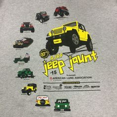 Online Registration For 10th Annual 'jeep jaunt' Now Open