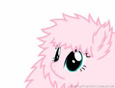 fluffytown: Completely forgot to upload this. It's that milestone gif from Ask Fluffle Puff, but without the background. Mlp My Little Pony, My Little Pony Friendship, Fluffy Puff, Mlp Characters, Imagenes My Little Pony, Fluttershy, Rainbow Dash, Magical Girl, Memes