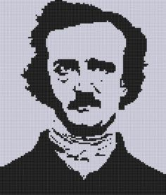 Looking for your next project? You're going to love Poe Cross Stitch Pattern  by designer Motherbeedesigns. - via @Craftsy