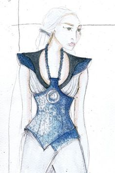 Game of Thrones- Costume Sketches
