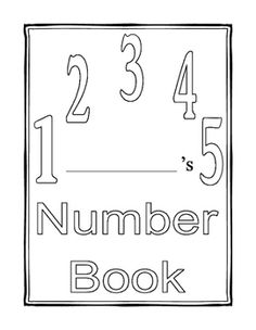 My Number Book teaches number recognition for preschoolers