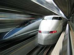 a ride on the bullet train was fantastic but a picture of it remained elusive