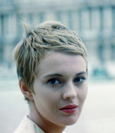 Jean Seberg. Photo by Peter Basch, 1961.                                                                                                                                                                                 More
