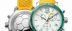 Tissot Quickster Football 6 modelos que vienen equipados con un movimiento para cronometrar partidos de fútbol, con descansos y prórrogas.