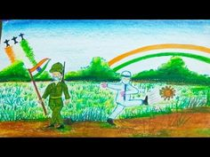 Independence Day Drawing || Happy Independence Day || Independance Day and Corona Vaccine - YouTube Independence Day Drawing, Independence Day Poster, Happy Independence Day, Army Drawing, Independance Day, Drawing For Kids, Drawings, Handmade, Painting