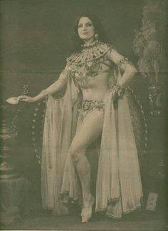 Vintage belly tribal dance
