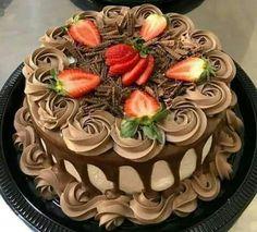 65 ideas cake designs birthday link for 2019 Cake Decorating Videos, Cake Decorating Techniques, Cake Recipes, Dessert Recipes, Gourmet Cakes, Specialty Cakes, Drip Cakes, Creative Cakes, Celebration Cakes