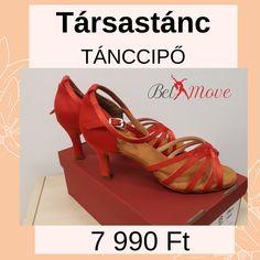 Társastánc cipő 7990 Ft, társastánc tánccipő vásárlás a Belmove tánccipő boltban Budapesten a Nyugatinál, 7 cm-es sarokkal, piros színben, boka-pántos. Character Shoes, Dance Shoes, Wedges, Sandals, Fashion, Dancing Shoes, Moda, Shoes Sandals, Fashion Styles