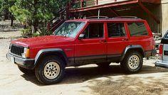 1993 Jeep Cherokee Sport. I'd drive it like it was my job.