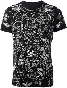 0229724bdd4 DIESEL - Black Reboot Veteran Tshirt for Men - Lyst