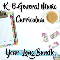Elementary General Music Curriculum (K-6): Year-Long Growing BUNDLE. Lesson ideas organized by concept to cover the entire year, K-6!!! All the visuals and materials are included!!!