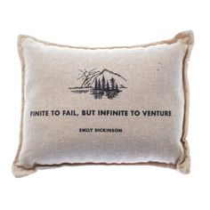 These decorative pillows are 100% cotton, filled with the fresh-smelling needles of a Balsam fir tree and made in the USA. Guaranteed to keep your room, drawer,