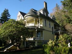 This fine, Victorian Queen Anne style mansion, one of the oldest in the county, is located in the City of Hoquiam. The 4,731 +/- square foot home has 6 bedrooms and 6.5 baths. The main level has a family room, formal dining room, living room, kitchen, office, utility room and 1/2 bath. The second level has a master suite, 2 bedrooms and 3.75 baths. The third level has 3 bedrooms, 1.75 baths and utility room. There is a basement studio apartment with kitchenette and full bath and guest ...