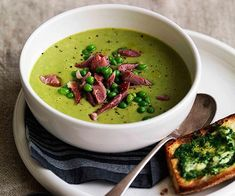 Because nothing warms you up like a bowl of soup, we've rounded up some of our favourite recipes. From French onion and buttery leek to a classic pea and ham, there are recipes to last you all winter long. Ham Hock Soup, Pea And Ham Soup, Winter Soups, Winter Food, Pea Recipes, Soup Recipes, Chili Recipes, Cooking Recipes, Chicken And Egg Noodles