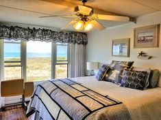 Can you see yourself having coffee in bed and enjoying this view? If you love the beach and Ocean City MD, come check out this vacation rental, Seeley's OC Sandcastle. Direct beach front, pool, beds prepared with fresh linens, towels (Hand, Bath and Face), paper products, beach carts, chairs, umbrella and more.