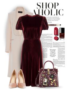 """27.09.16"" by bliznec ❤ liked on Polyvore featuring Sisley, Brandon Maxwell, Valentino, Dolce&Gabbana and Chanel"
