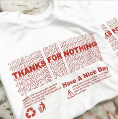 Thanks White Longsleeve T Shirt - KYC Vintage Best Picture For T-shirt nike For Your Taste You are looking for something, and it is going to tell you exactly what you are looking for, and you didn't f