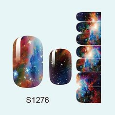 Tint 14PCS Nail Art Stickers A Series S1276 -- Click on the image for additional details.