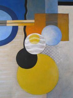 """Saatchi Art Artist Maroe Susti; Painting, """"Geometrics"""" #art"""