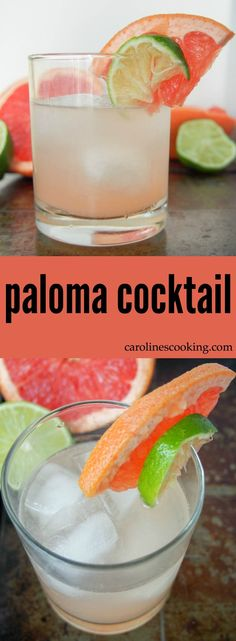 The paloma cocktail is the real tequila cocktail of Mexico: easy, refreshing and with a great citrus tang from grapefruit juice, it'll be a go-to favorite.